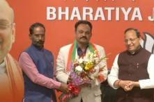 Congress Leader Janardan Dwivedi's Son Samir Dwivedi Joins BJP