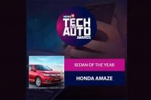 Tech And Auto Awards 2018: Sedan Of The Year - Honda Amaze