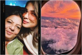 Priyanka Chopra Shares Adorable Selfie with Mother Before Flying off Into Nature