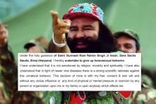 Gurmeet Singh's Dera Sacha Sauda Website Tells Followers To Give Up Homosexuality