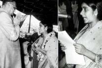 RIP Sushma Swaraj: Rare Pictures Of 'Millennial' Minister
