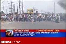 Sikhs block Jammu-Pathankote highway, raise 'Khalistan zindabad' slogans after clashes with police