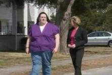 At 14, girl weighs 445 pounds!