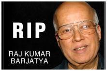 Hum Aapke Hain Koun Producer Rajkumar Barjatya Passes Away