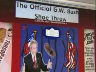Watch: Bush's shoe flung all around the web