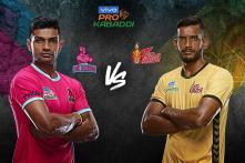 Pro Kabaddi 2019 HIGHLIGHTS, Jaipur Pink Panthers vs Telugu Titans in Jaipur: Telugu Beat Jaipur 51-31