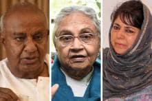 Deve Gowda, Sheila Dikshit, Mehbooba: Saffron Wave Swept Away a Dozen Ex-CMs, 8 of Them From Cong