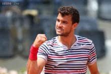 Dimitrov reaches Stockholm Open quarterfinals