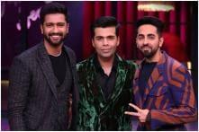 Karan Johar, Ayushmann Khurrana, Vicky Kaushal Look Dapper as the Trio Suit-up for Koffee With Karan