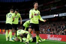 Premier League: Sheffield United Hold Arsenal to 1-1 Draw With Late Equaliser