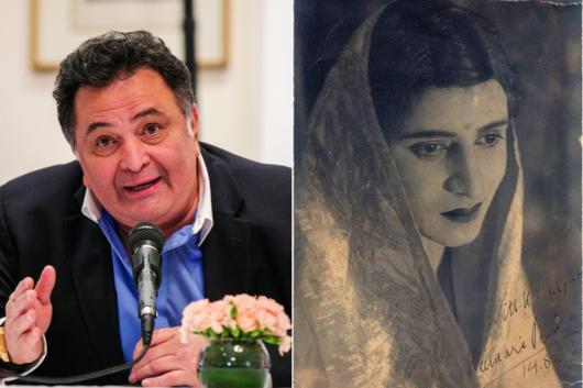 Rishi Kapoor shared a throwback pic on Twitter