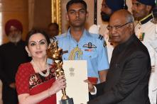 Reliance Foundation's Nita Ambani Receives Rashtriya Khel Protsahan Award