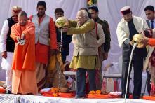 Kumbh Mela 2019: President Kovind, UP CM Yogi Perform Ganga Pujan
