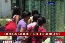 J&K group wants dress code for tourists, govt silent