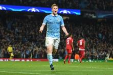 De Bruyne scores late winner as Manchester City beat Sevilla 2-1 in Champions League