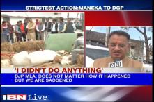 BJP MLA who allegedly broke horse's leg faces a maximum fine of Rs 50