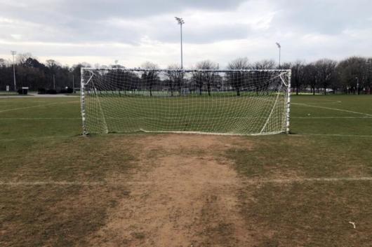Empty soccer field (Photo credit: Reuters)