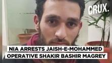 NIA Arrests Jaish-e-Mohammed Terrorist Shakir Bashir Magrey Involved In Pulwama Attack