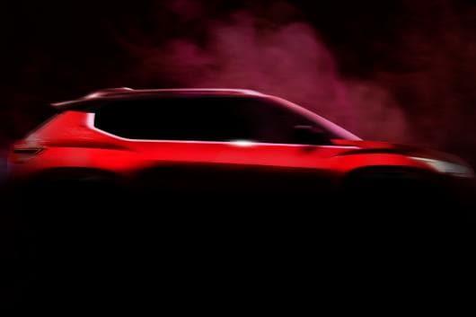 Nissan's new compact SUV render (Image: Nissan Global Design)