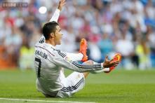 Real Madrid president Perez plays down Ronaldo spat