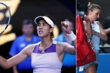 Australian Open: Upsets Roll on as Simona Halep Knocked Out by Unseeded Garbine Muguruza
