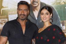Ajay Devgn, Ileana D'Cruz at 'Raid' Trailer Launch; See Pictures