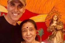 Akshay Kumar Had 'Chai and Some Fun Chatter' With Asha Bhosle, See Pic