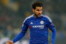 Chelsea's Cesc Fabregas denies reports of rift with Jose Mourinho