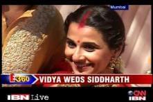 Vidya Balan ties the knot with Siddharth Roy Kapur