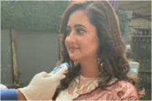Rashami Desai Gets Her Temperature Checked on Naagin 4 Sets Amid Coronavirus Spread