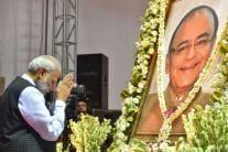 Arun Jaitley's Prayer Meet: PM Modi, Rajnath Singh Pay Tribute to Former FM