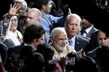 Crowd chants 'Modi, Modi' as PM winds up Silicon Valley tour