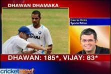 Shikhar Dhawan eyes double ton
