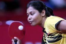 Pressure pulls national table tennis champion Mouma Das down