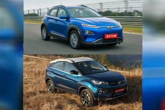 Hyundai Kona vs Tata Nexon EV