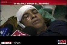Uttarakhand: Brave woman kills a leopard in self defence