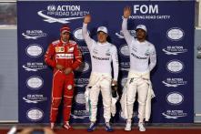 Bahrain GP: Bottas Ends Hamilton Run for First Career Pole