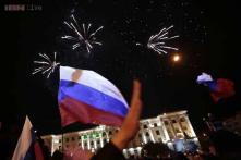 Crimeans vote to leave Ukraine, join Russia