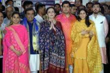 Mukesh Ambani's Son Akash to Wed Russel Mehta's Daughter Shloka in December