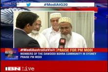 Members of the Dawoodi Bohra community in Sydney praise PM Modi