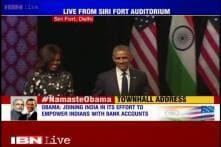 Lagaan's song 'O Mitwa' played at Siri Fort after Obama's townhall address at Siri Fort