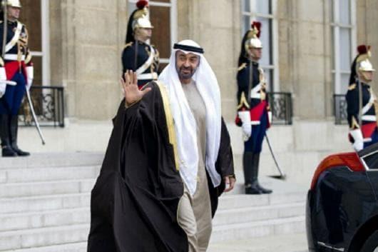 File image of Crown Prince Mohamed Bin Zayed.