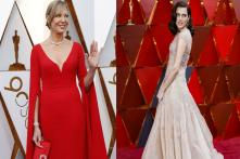 Oscars 2018: Drama in Red and Neutrals on the Red Carpet