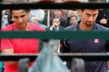 Rafael Nadal beats Novak Djokovic in exhibition match