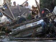 In pics: Tornado rips away buildings near Oklahoma City