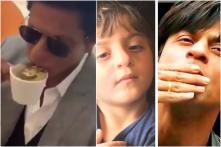 Shah Rukh Khan Shares Adorable Pic with AbRam, Licks Himself in New Video