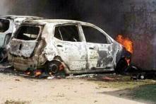 14 Cars Meant for Sale Gutted in Fire at Delhi's Vivek Vihar