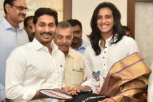 Andhra CM Assures 5 Acres Land to PV Sindhu for Girls Badminton Academy in Visakhapatnam