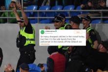 Policeman Turns Jonty Rhodes to Catch Shaun Marsh in the Stands During Aus Vs RSA Match