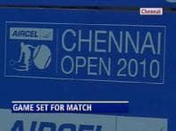 Chennai Open tennis tounament set to take off